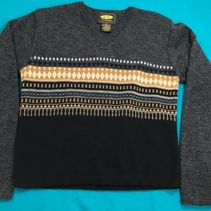 Vintage free people wool blend sweater M cozy